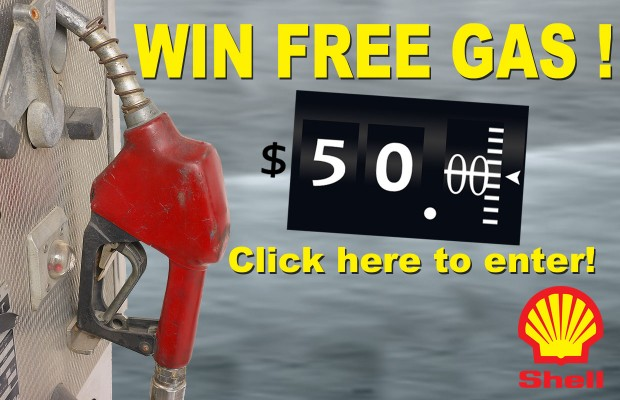 Win a $50 Shell Gas Card