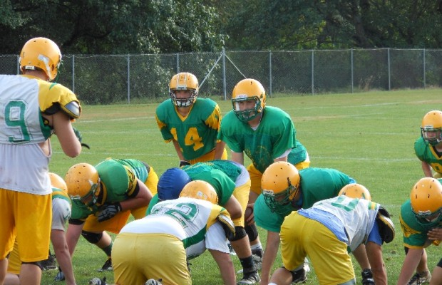 Lynden vs Sehome Football 1st half 10/4/13