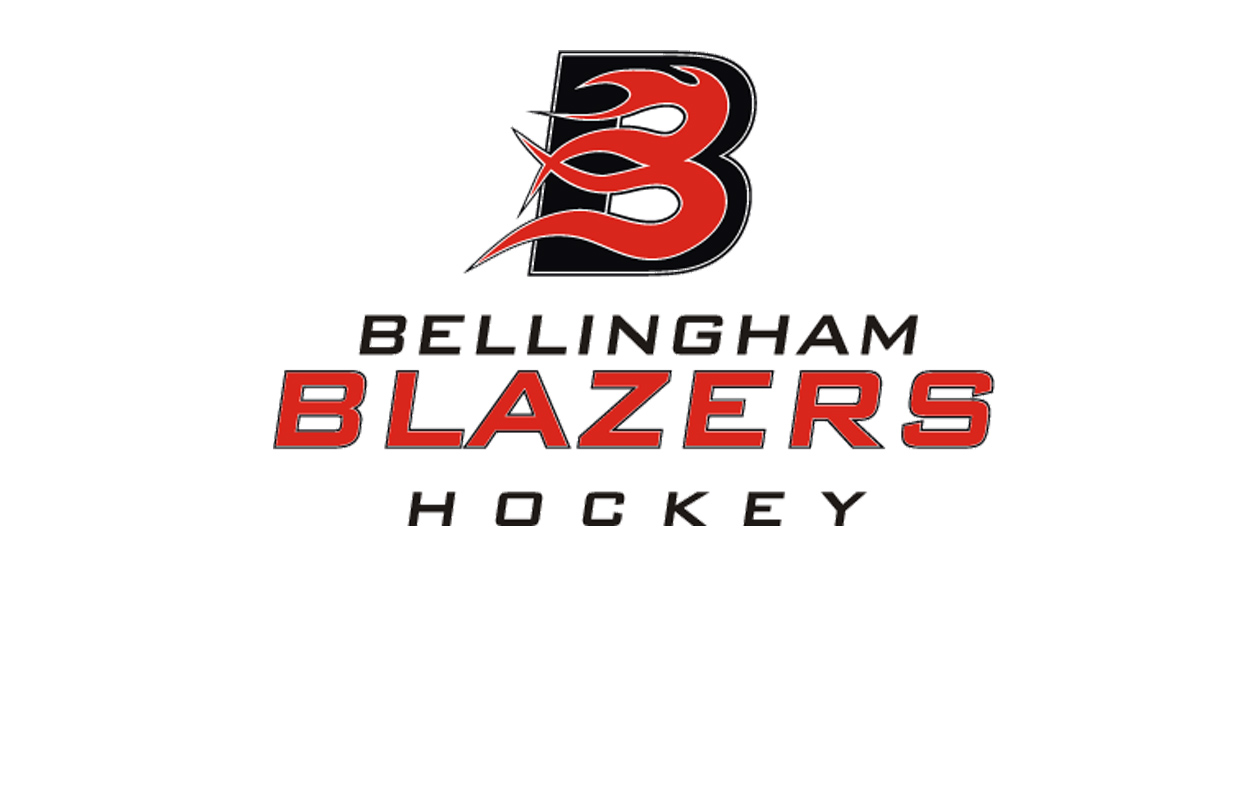 bellingham blazers logo with text