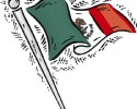 mexican flag graphic