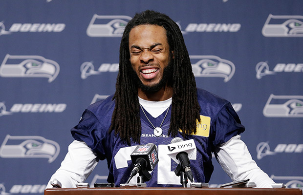 Sherman fined for taunting in title game