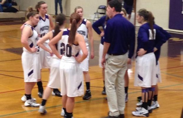 Blaine vs Nooksack Valley Girls Basketball 2nd half 1/3/14