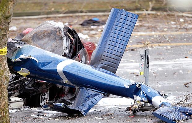 Helicopter crash investigation gets takeoff video
