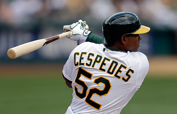 Oakland Athletics' Yoenis Cespedes