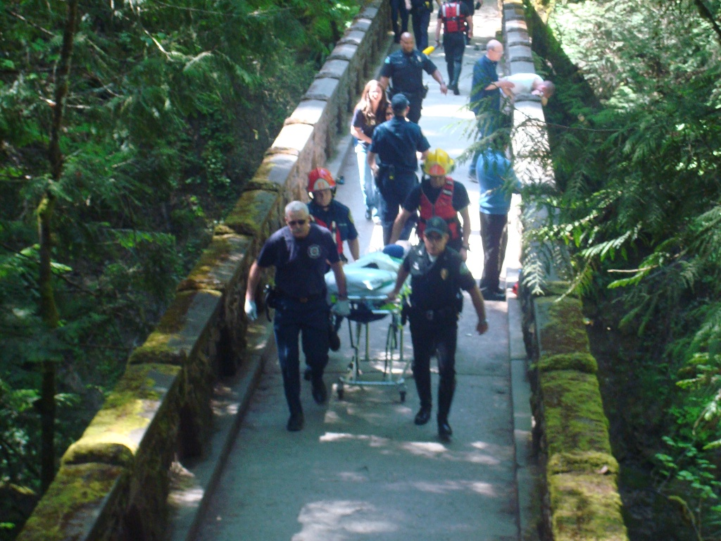 UPDATE: Young boy still alive after slipping into falls
