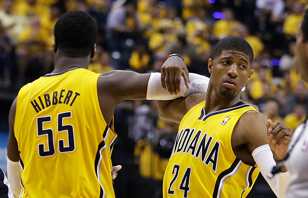Pacers' Paul George diagnosed with concussion