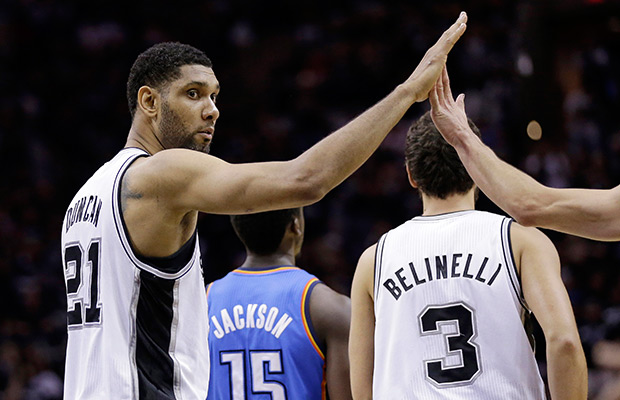 Spurs roll past OKC to take 2-0 series lead