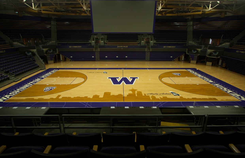 UW's Alaska Airlines Arena gets a Seattle-based facelift