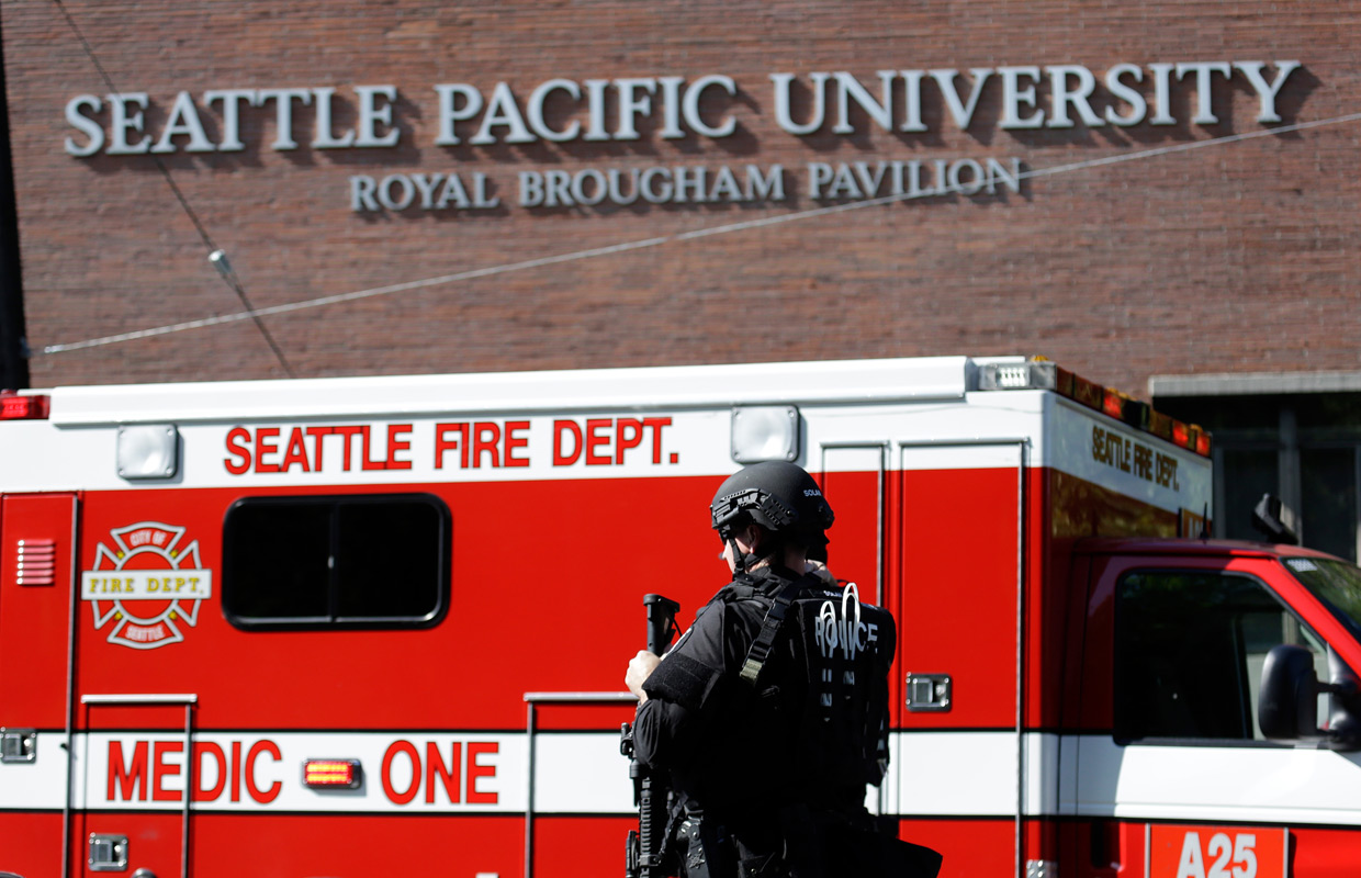 Seattle shooting victim 'getting stronger'
