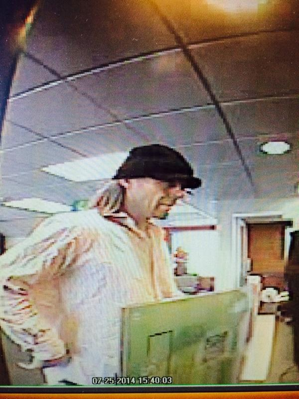 Another Friday Afternoon Bellingham Bank Robbery