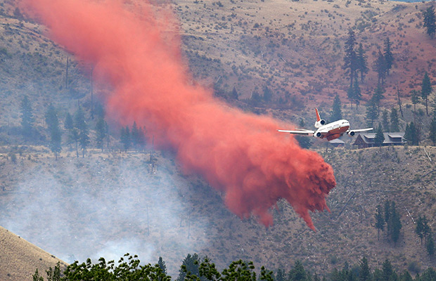 Cost of Washington wildfires so far: $50 million