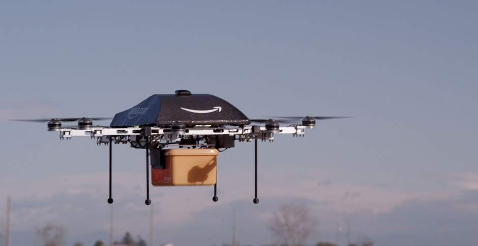 Amazon awarded patent for flying warehouse