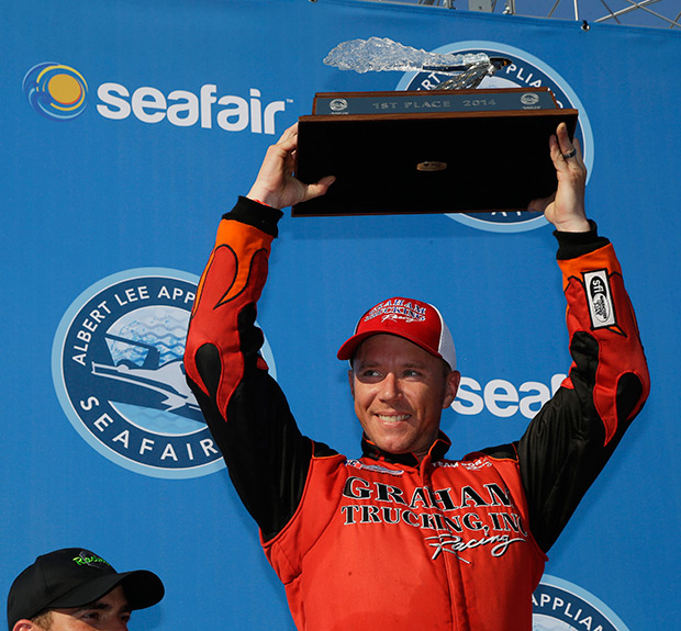 Victory for J. Michael Kelley & Graham Trucking at Seafair