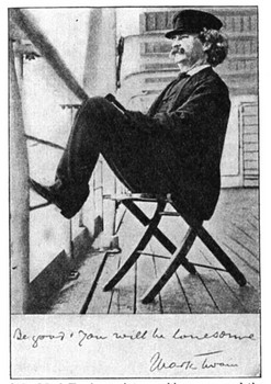 """Mark Twain In Fairhaven""!"