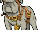 generic steampunk dog graphic