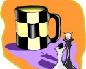 generic chess and coffee graphic