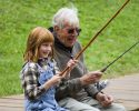 generic fishing kid and man
