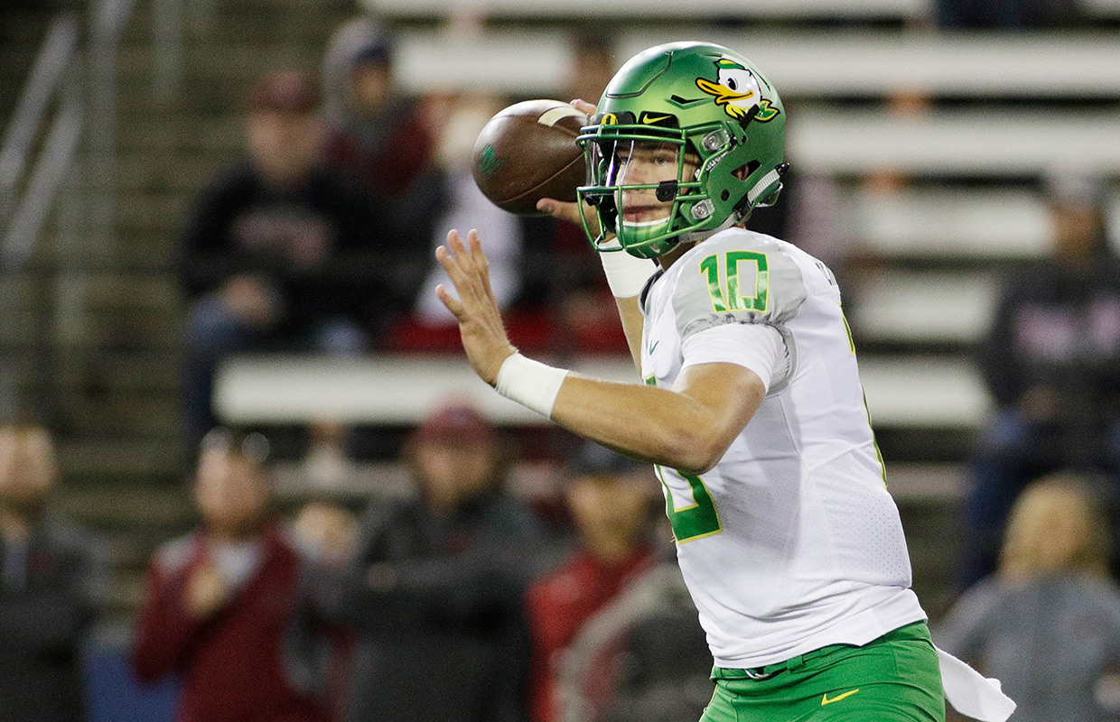 OR to start Justin Herbert against Washington
