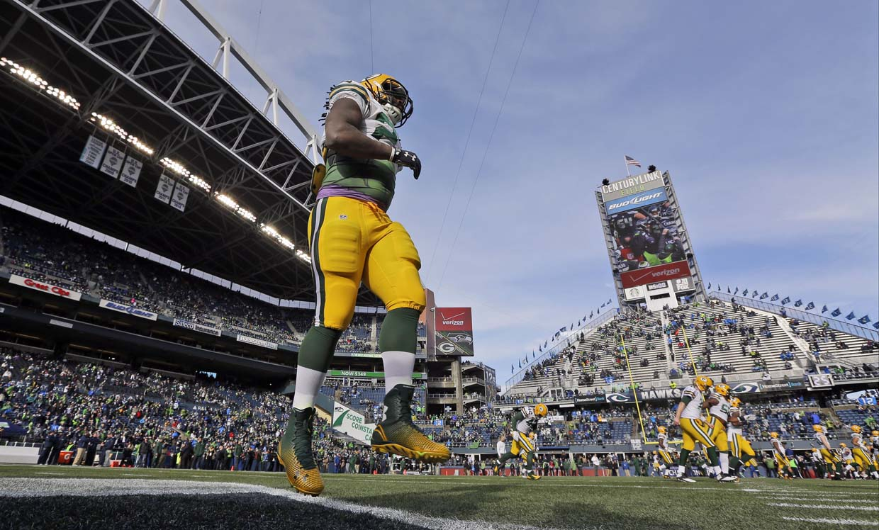 Eddie Lacy has seven different $55000 weight targets
