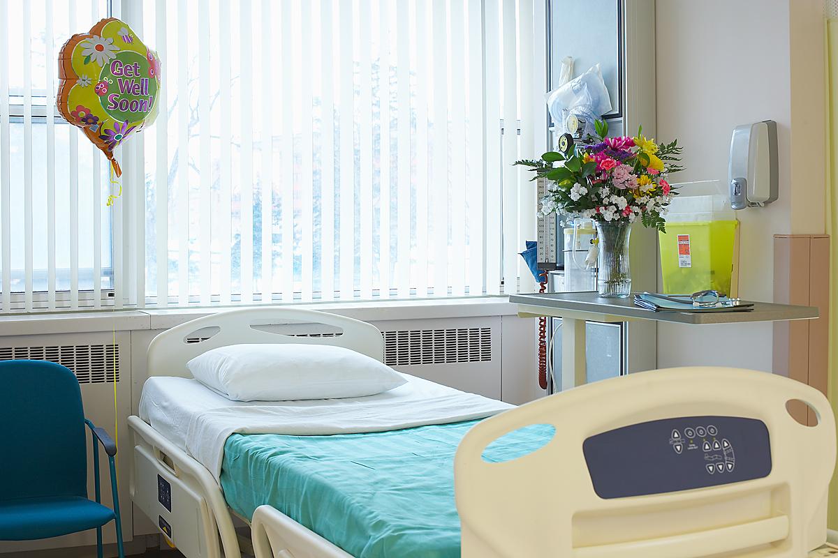 Цветы в больнице