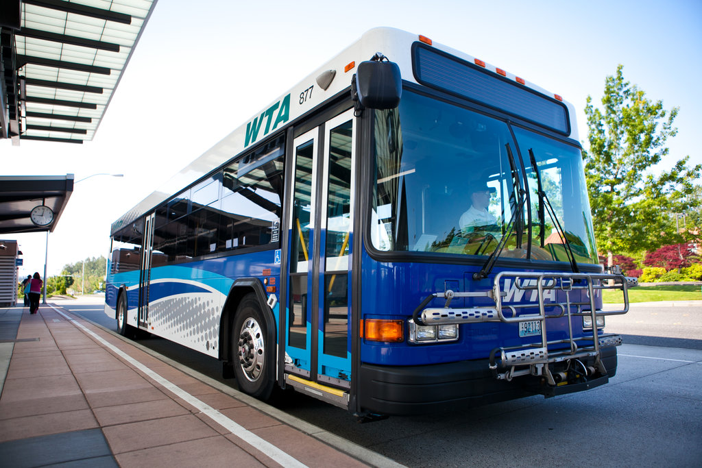 Wta Offers Free Bus Service 790 Kgmi