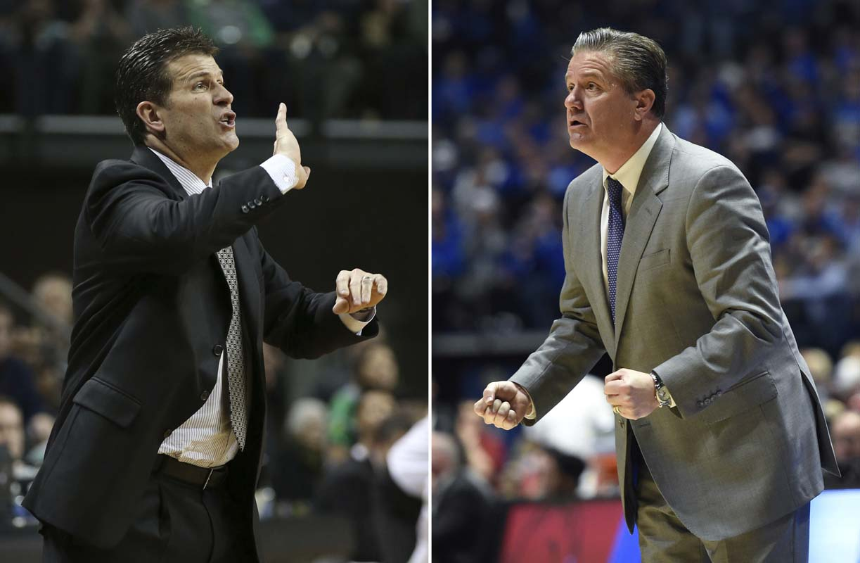 John Calipari and seniors preview Kentucky vs UCLA in Sweet 16