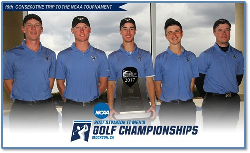 WWU men's golf selected as No. 6 seed in NCAA D2 West Region