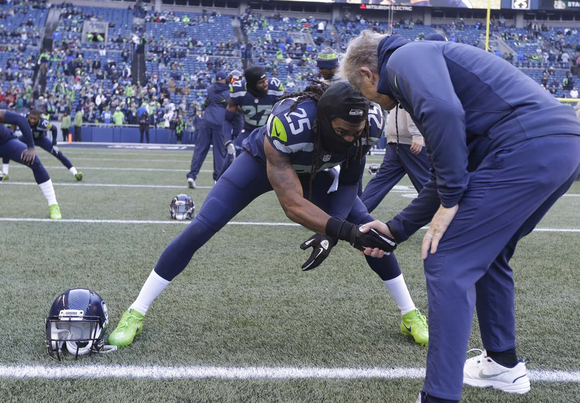 Pete Carroll: Not thinking about life after Legion of Boom