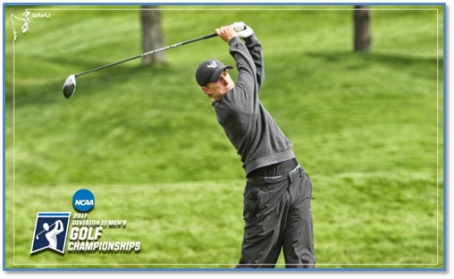 WWU Men's golf tied for 2nd in NCAA II Super Regional heading into final round