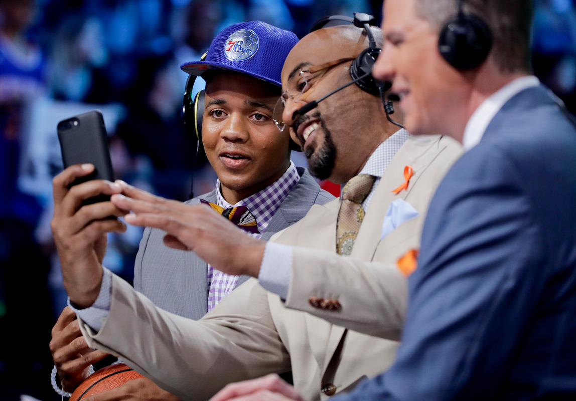 NBA draft draws second-largest audience on ESPN