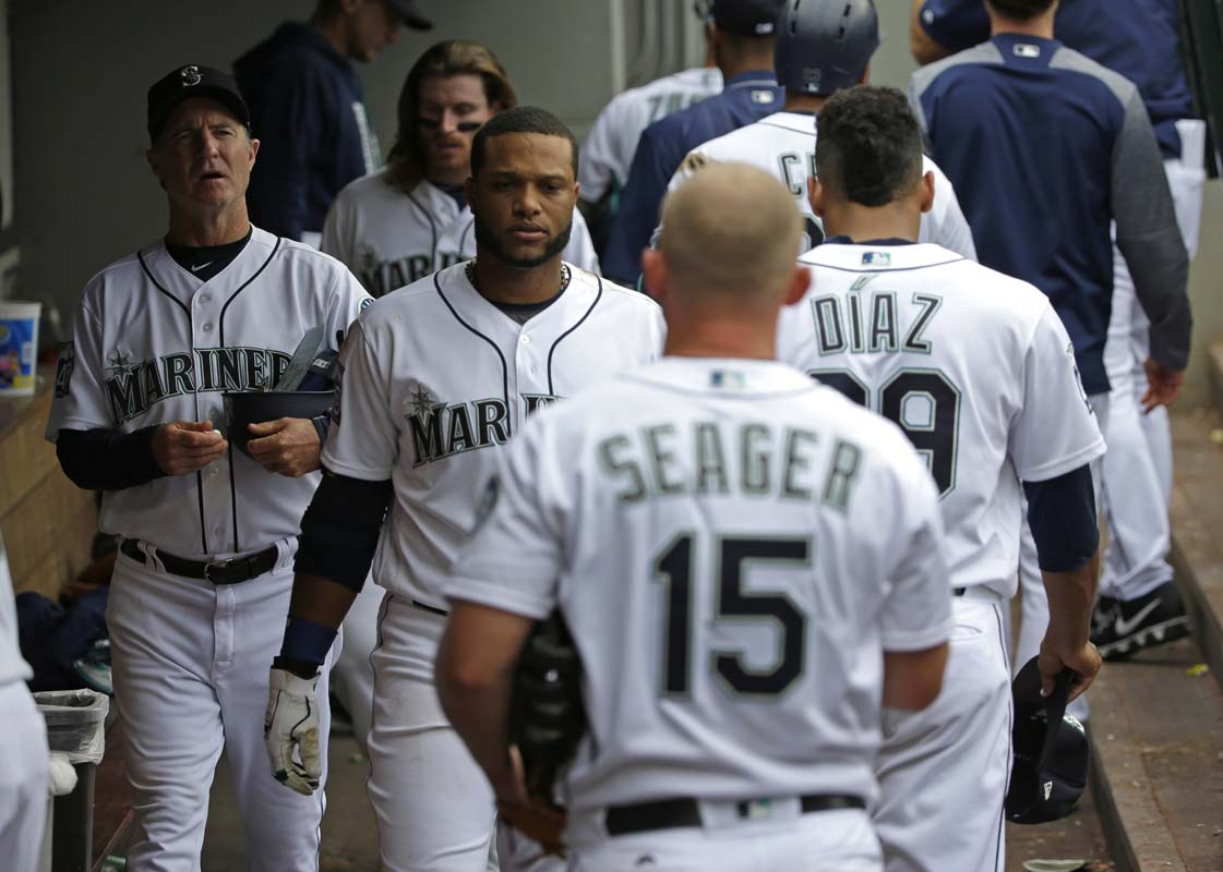 Cano hits 2 HRs, Miranda pitches Mariners over Angels