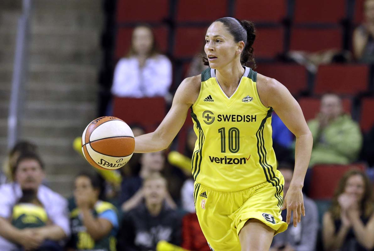 Seattle's Sue Bird named WNBA All-Star for 10th time