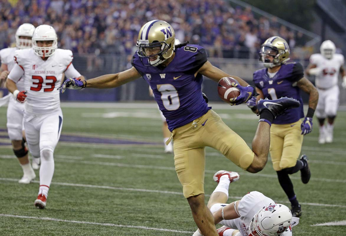 Colorado punter will kick it 'high and far' to avoid Dante Pettis""