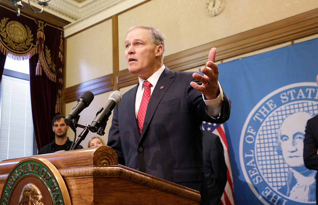Gov. Inslee wants Washington removed from drilling plan