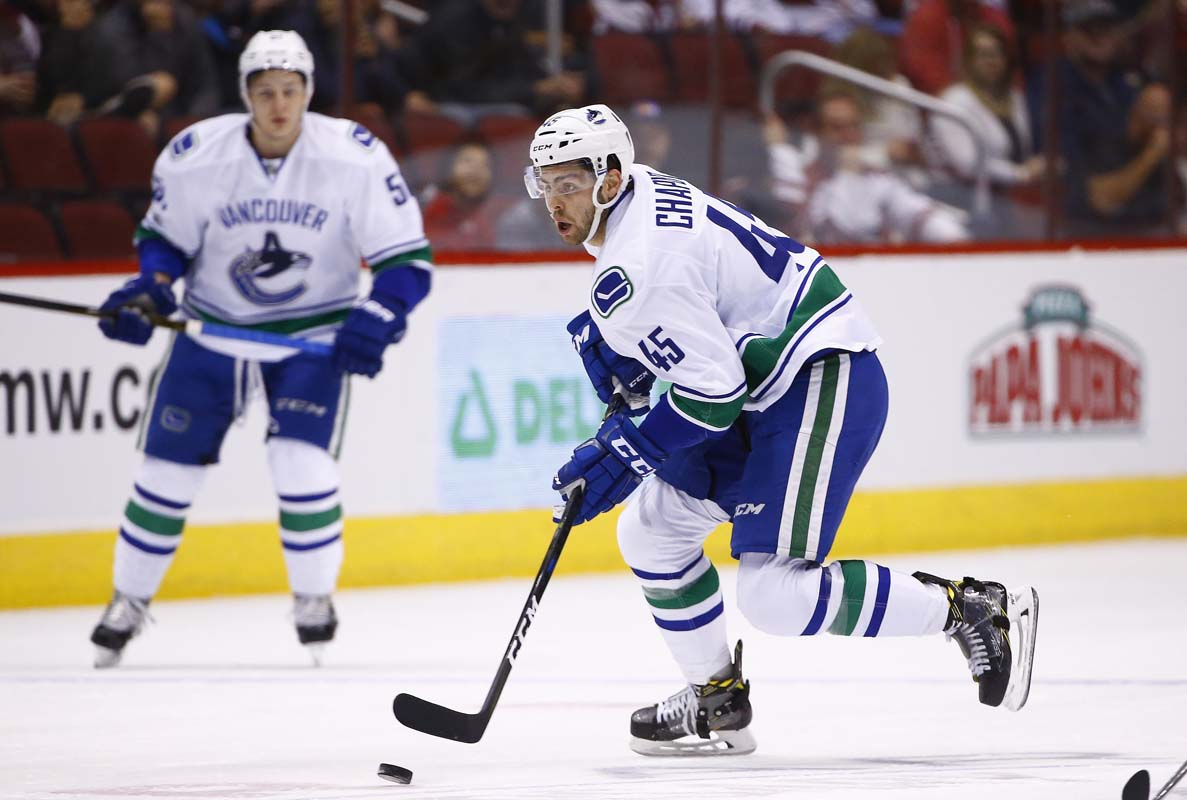 Canucks rally in the second period to beat Blue Jackets