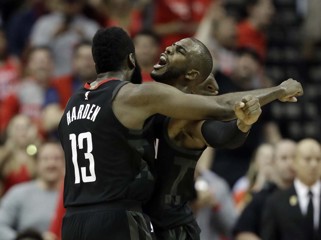 Chris Paul sparks fireworks in win over Trail Blazers