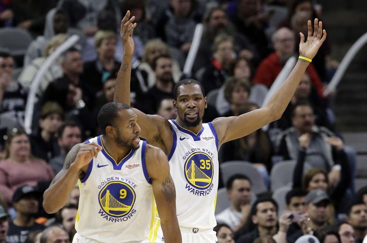 Golden State Warriors still adjusting to new shot-clock reset