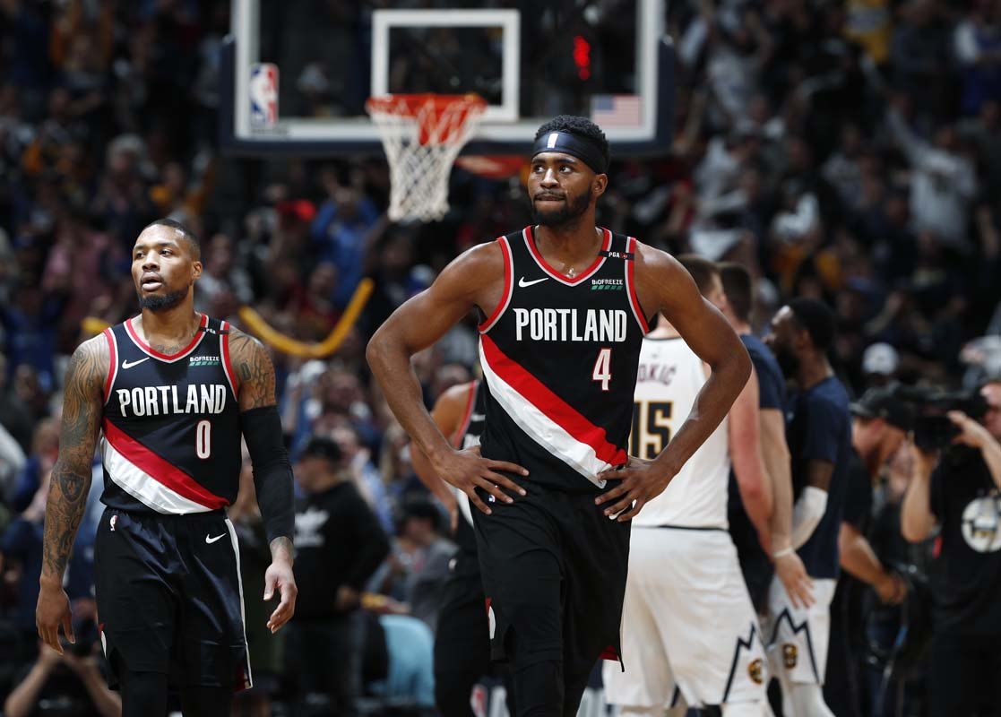 59f5ab35c1c Blazers beat Nuggets to force Game 7